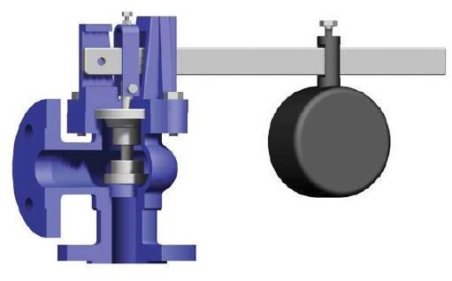 Mega Vent Safety Valve Weight Loaded Pn16 T 1510